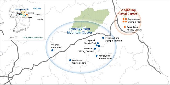 PYEONGCHANG 2018 Winter Olympics XXII Olympic Winter Games